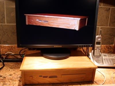 Wooden Computer Case 12